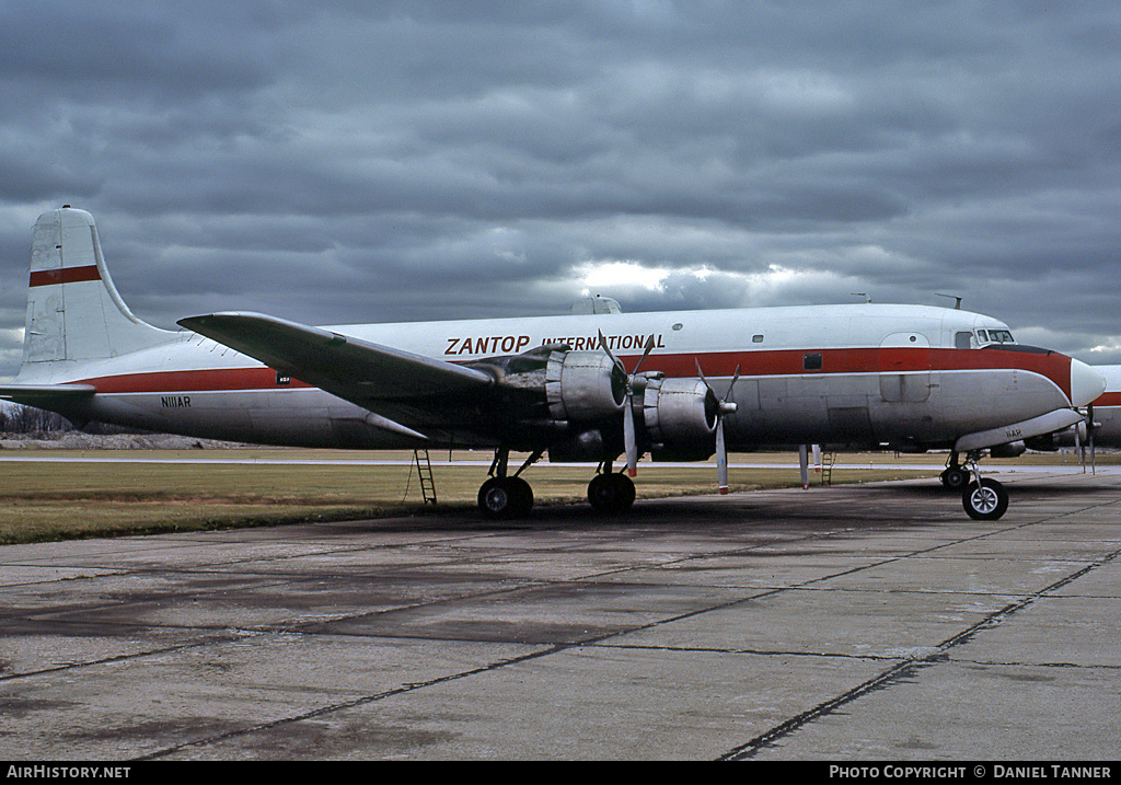 Aircraft Photo of N111AR | Douglas DC-6B(F) | Zantop International Airlines | AirHistory.net #29233