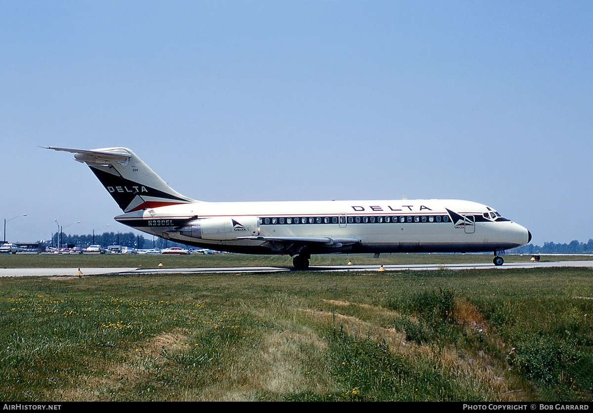 Aircraft Photo of N3305L | Douglas DC-9-14 | Delta Air Lines | AirHistory.net #29249