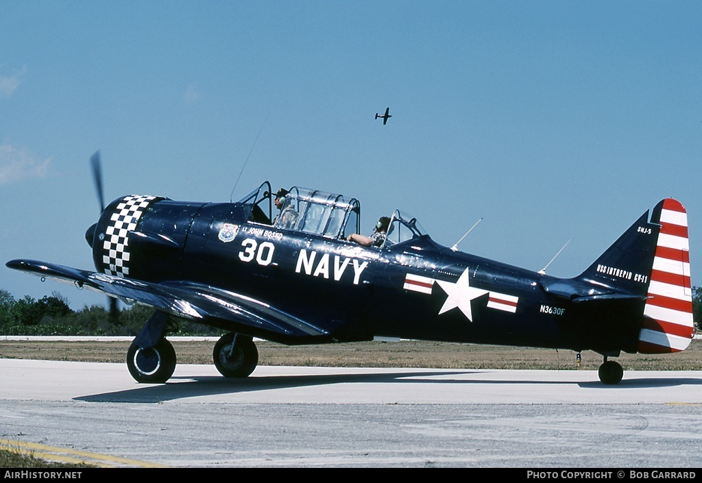 Aircraft Photo of N3630F | North American SNJ-5 Texan | USA - Navy | AirHistory.net #29278