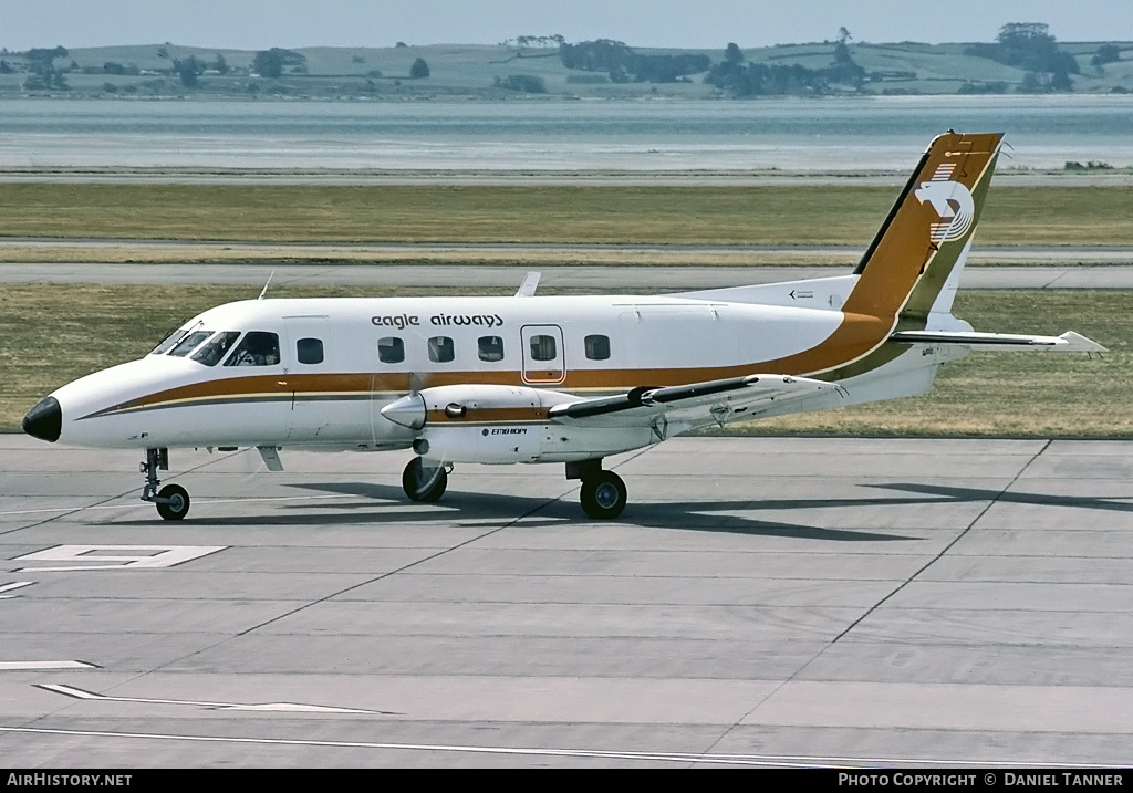 Aircraft Photo of ZK-ERU | Embraer EMB-110P1 Bandeirante | Eagle Airways | AirHistory.net #29319