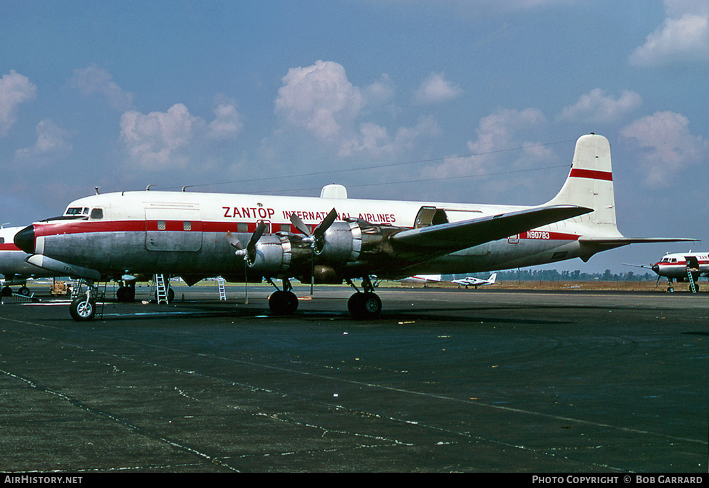Aircraft Photo of N90783 | Douglas DC-6A | Zantop International Airlines | AirHistory.net #29666