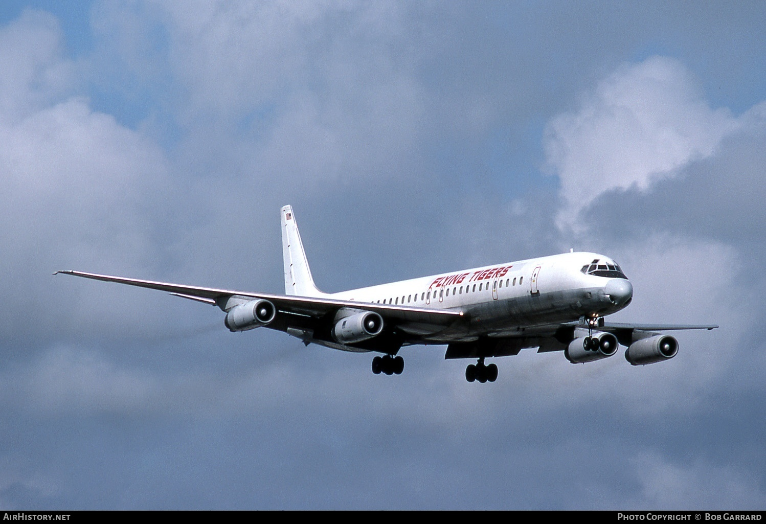 Aircraft Photo of N776FT | McDonnell Douglas DC-8-63CF | Flying Tigers | AirHistory.net #30071