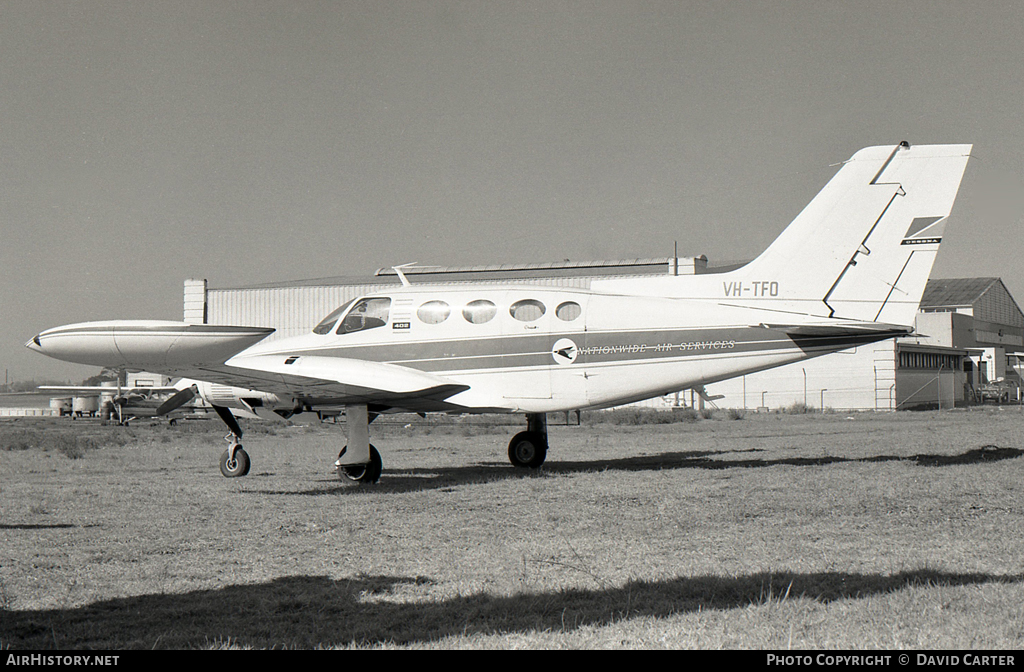 Aircraft Photo of VH-TFO | Cessna 402 | Nationwide Air Services | AirHistory.net #30074