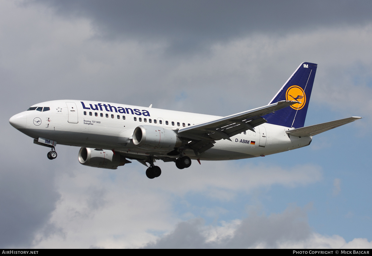 Aircraft Photo of D-ABIM | Boeing 737-530 | Lufthansa | AirHistory.net #30147