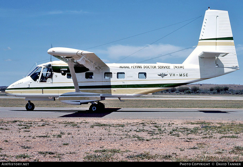 Aircraft Photo of VH-MSE | GAF N-22B Nomad | Royal Flying Doctor Service - RFDS | AirHistory.net #30235