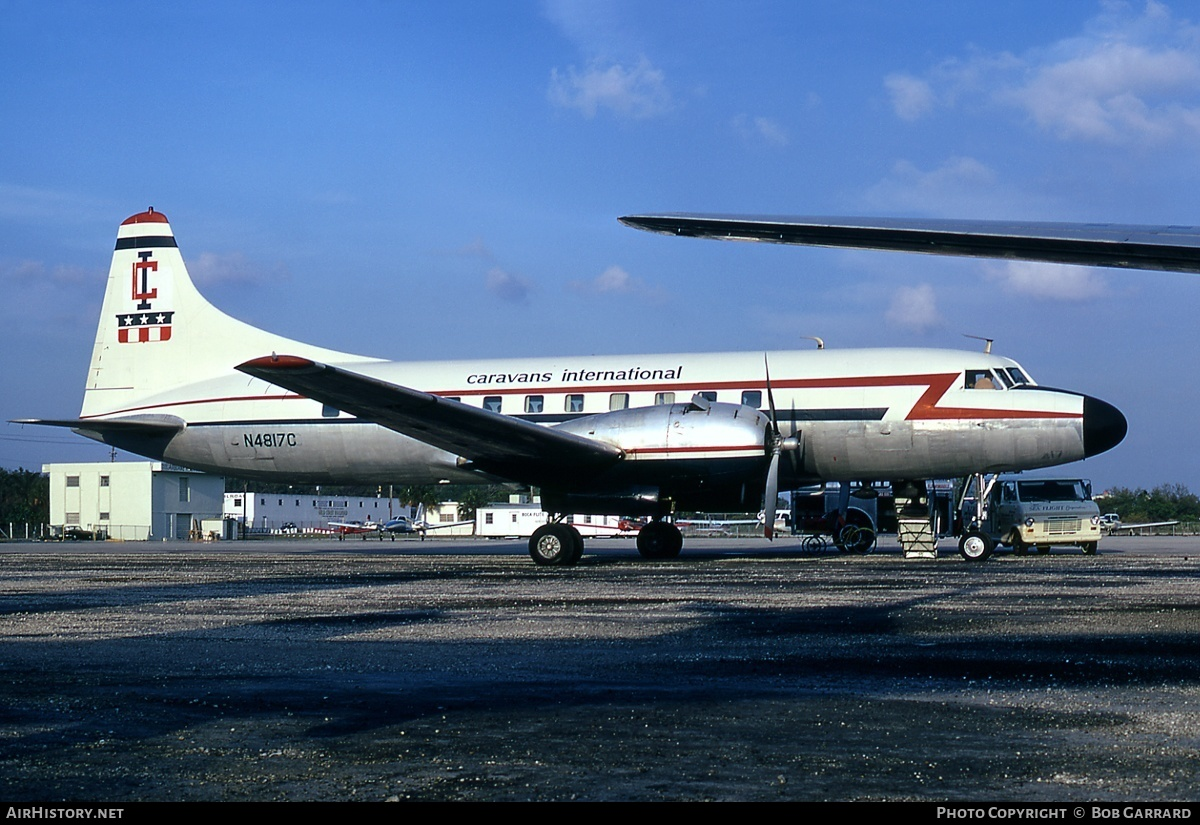 Aircraft Photo of N4817C | Convair 440-38 Metropolitan | Caravans International | AirHistory.net #30339