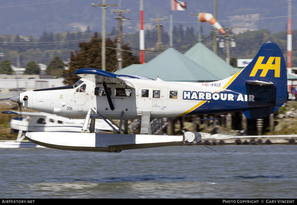 Aircraft Photo of C-FIUZ | De Havilland Canada DHC-3T... Turbo Otter | Harbour Air | AirHistory.net #30695