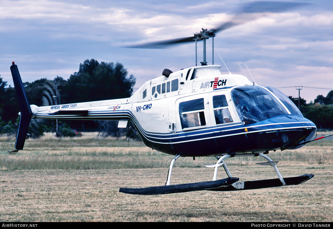 Aircraft Photo of VH-CWO | Bell 206B JetRanger II | Airtech | AirHistory.net #31076