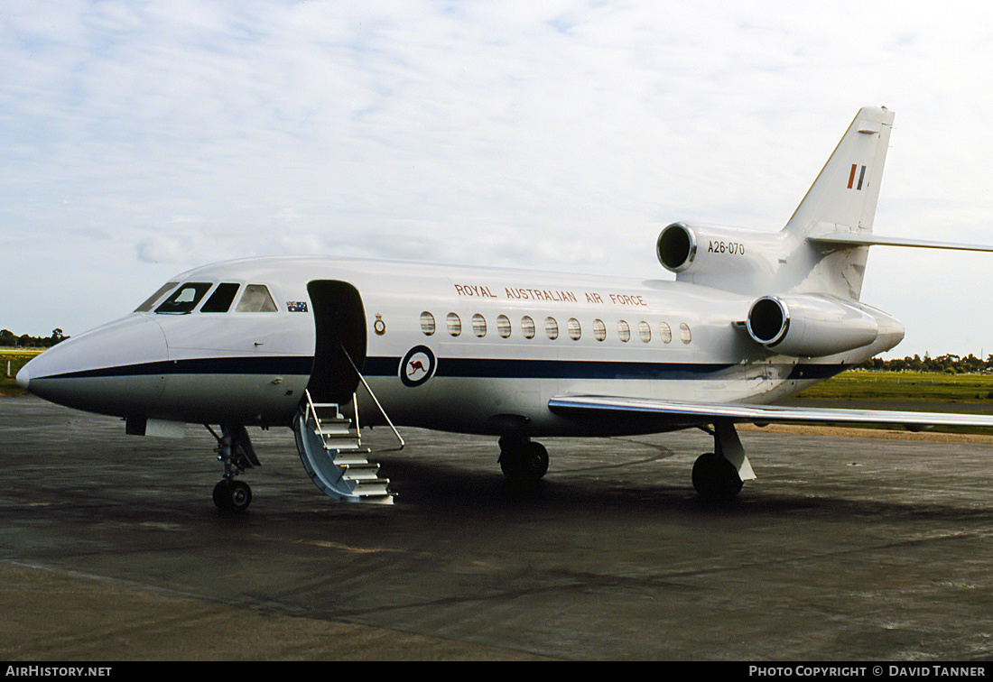Aircraft Photo of A26-070 | Dassault Falcon 900 | Australia - Air Force | AirHistory.net #31126
