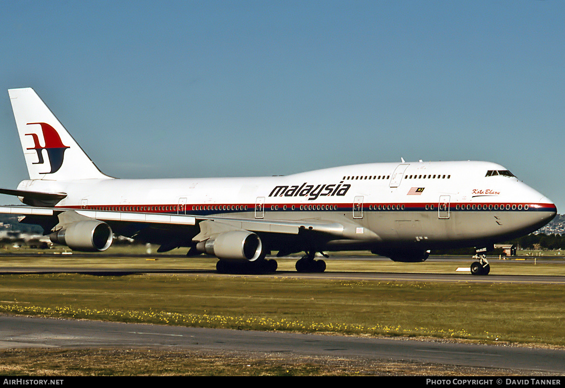 Aircraft Photo of 9M-MPF | Boeing 747-4H6 | Malaysia Airlines | AirHistory.net #31837