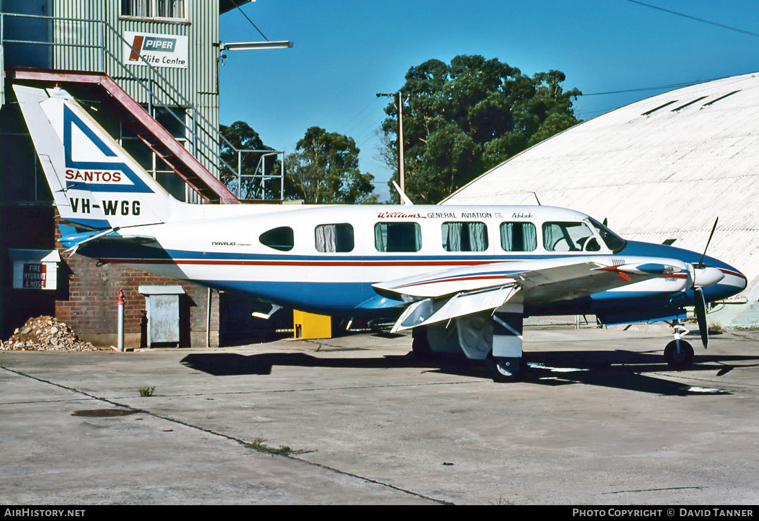 Aircraft Photo of VH-WGG | Piper PA-31-350 Navajo Chieftain | Williams General Aviation | AirHistory.net #32102