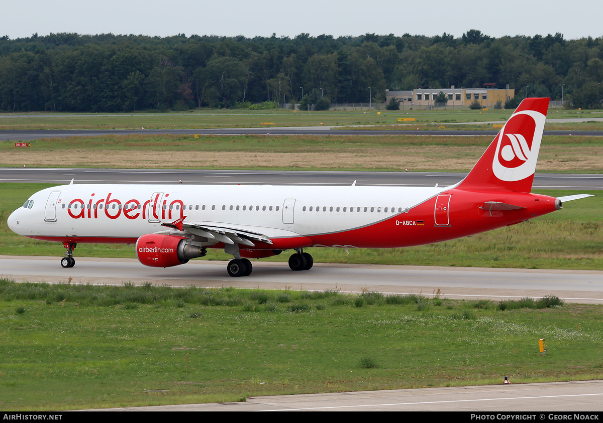 Aircraft Photo of D-ABCA | Airbus A321-211 | Air Berlin | AirHistory.net #33508