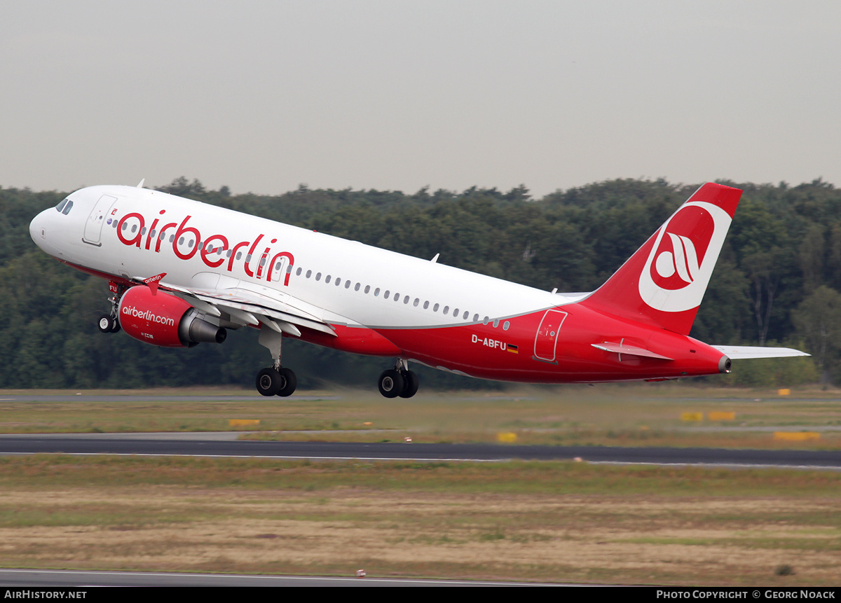 Aircraft Photo of D-ABFU | Airbus A320-214 | Air Berlin | AirHistory.net #33603