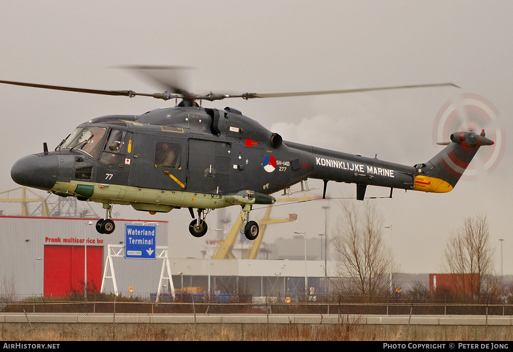 Aircraft Photo of 277 | Westland SH-14D Lynx (WG-13) | Netherlands - Navy | AirHistory.net #33792
