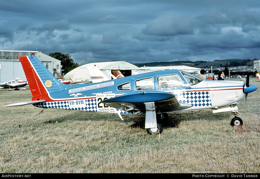 Aircraft Photo of VH-BVM | Piper PA-28R-200 Cherokee Arrow II | AirHistory.net #33872