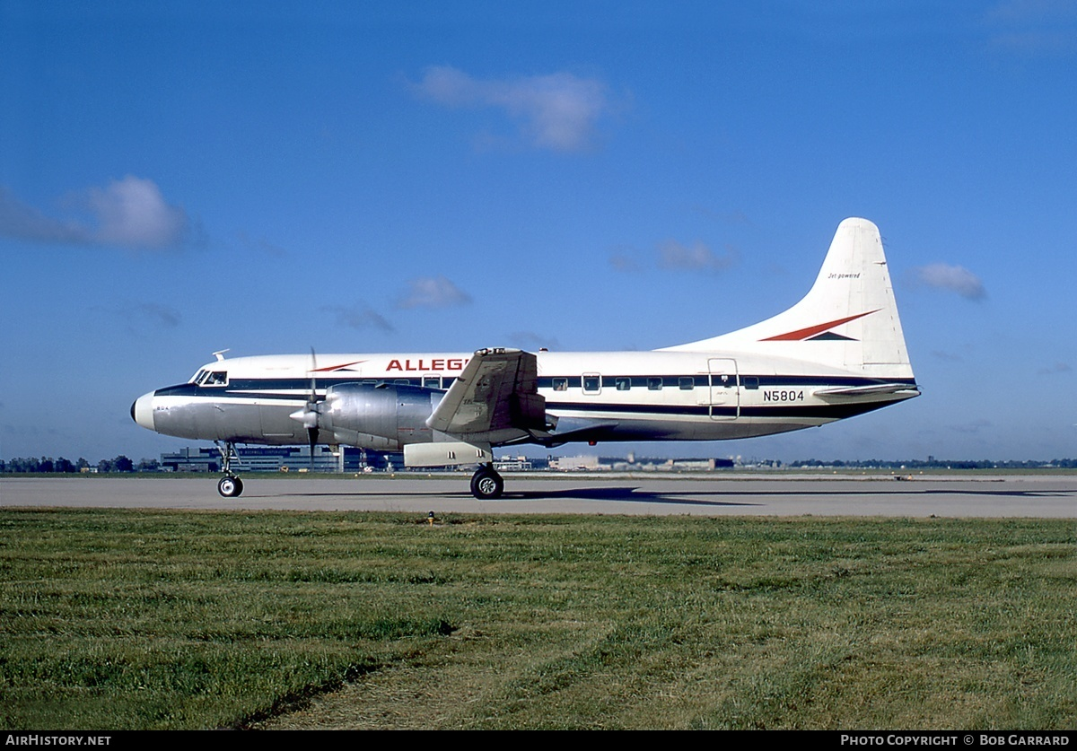 Aircraft Photo of N5804 | Convair 580 | Allegheny Airlines | AirHistory.net #33922