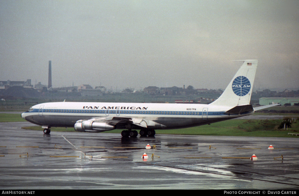 Aircraft Photo of N887PA | Boeing 707-321B | Pan American World Airways - Pan Am | AirHistory.net #34396