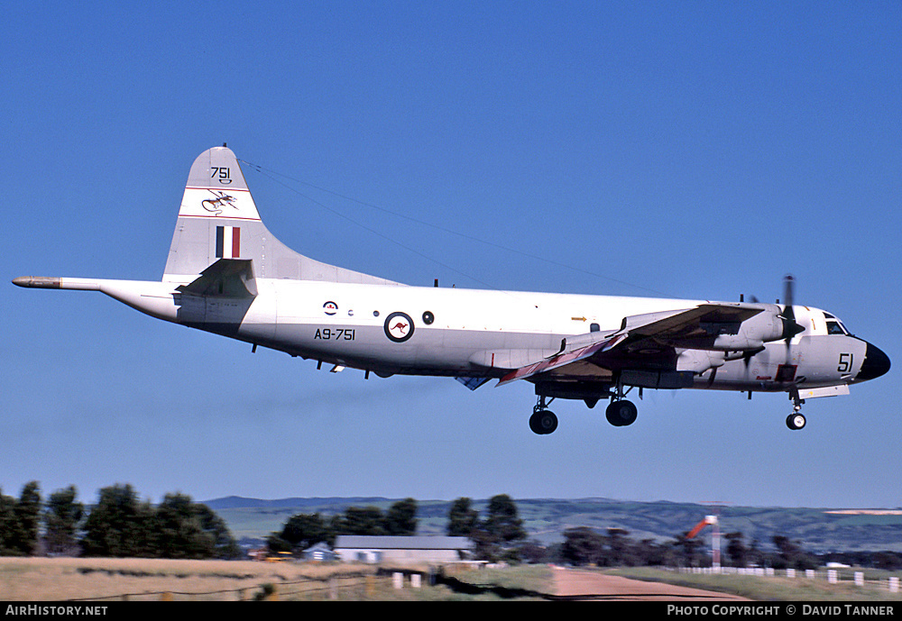 Aircraft Photo of A9-751 | Lockheed P-3C Orion | Australia - Air Force | AirHistory.net