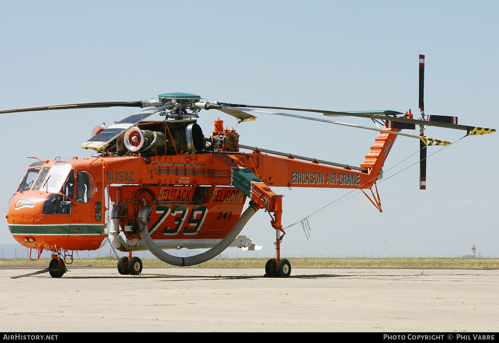Aircraft Photo of N179AC | Sikorsky S-64F Skycrane | Helicorp | AirHistory.net #35412