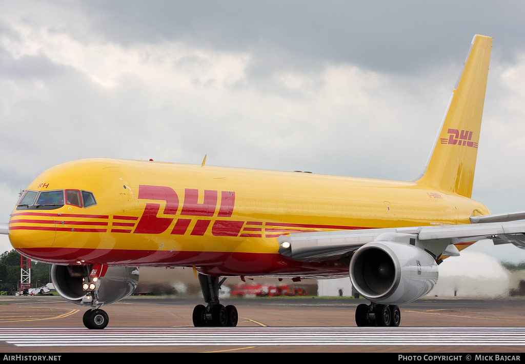 Aircraft Photo of G-BMRH | Boeing 757-236(SF) | DHL | AirHistory.net