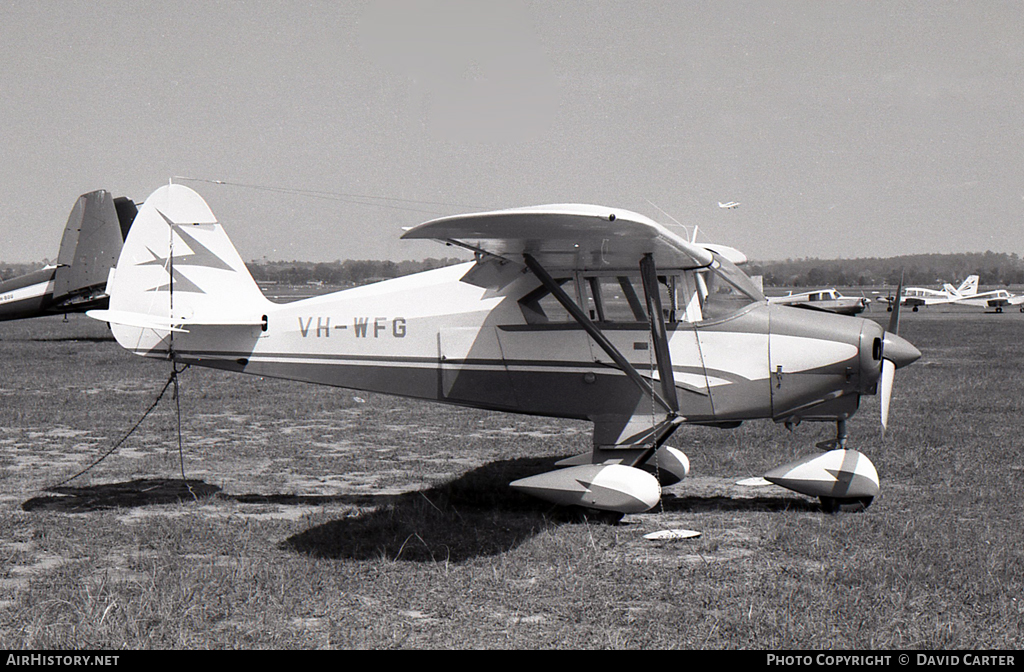 Aircraft Photo of VH-WFG | Piper PA-22-160 Tri-Pacer