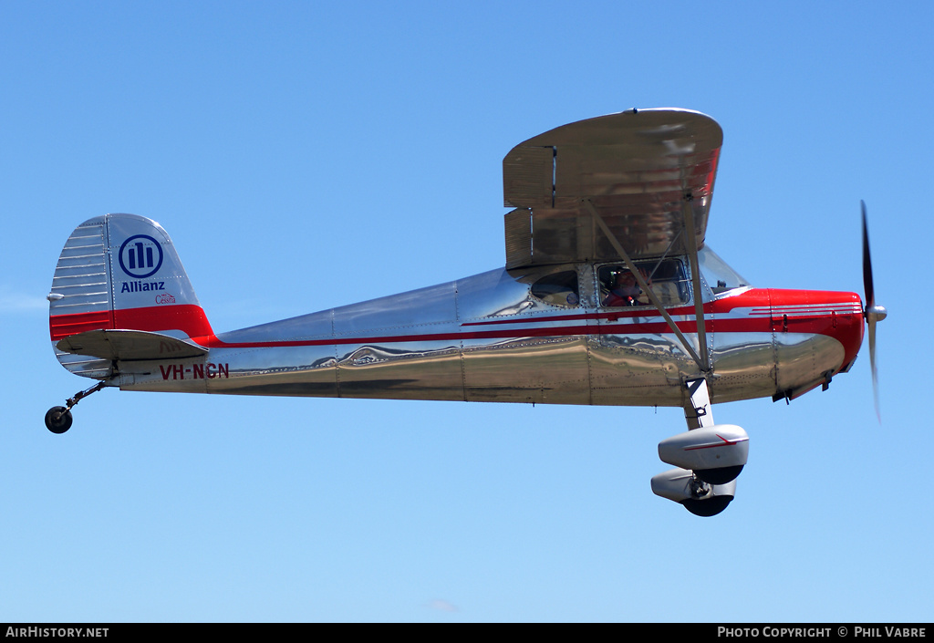 Aircraft Photo of VH-NCN | Cessna 140 | Allianz | AirHistory.net #40198