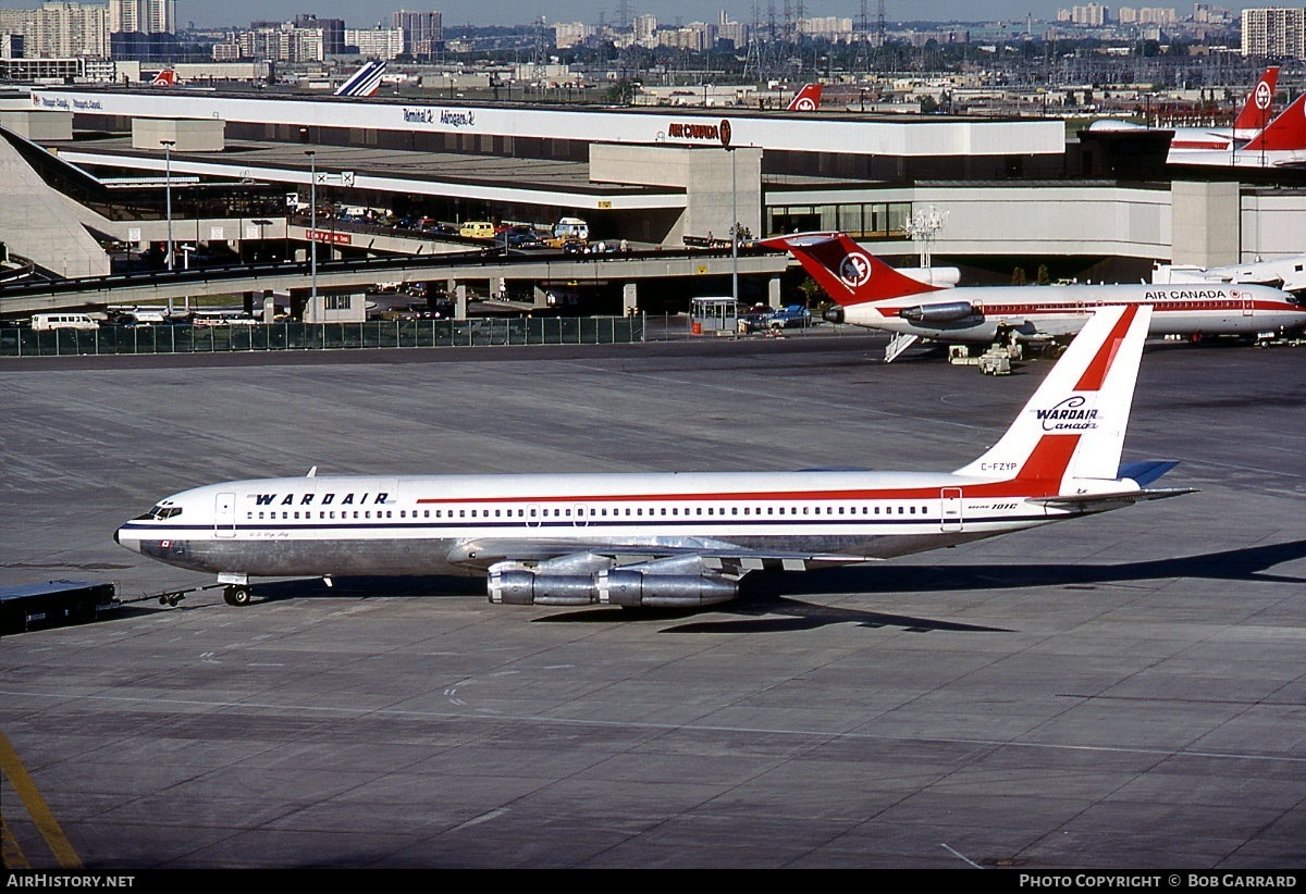 Aircraft Photo of C-FZYP | Boeing 707-396C | Wardair Canada | AirHistory.net #40288