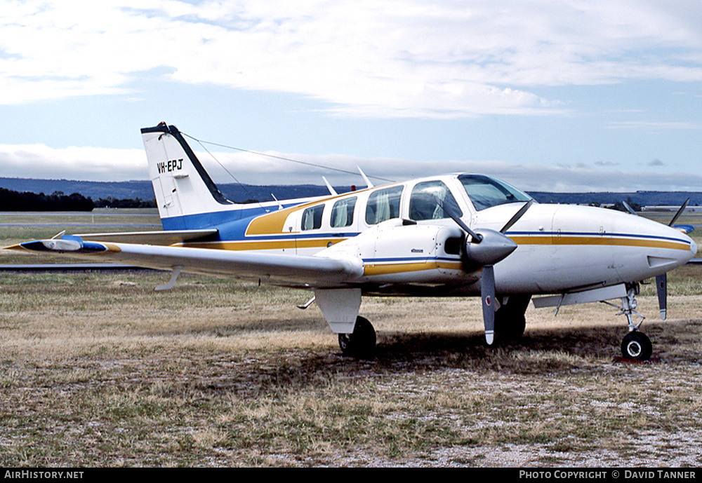 Aircraft Photo of VH-EPJ | Beech 58 Baron | AirHistory.net #40314