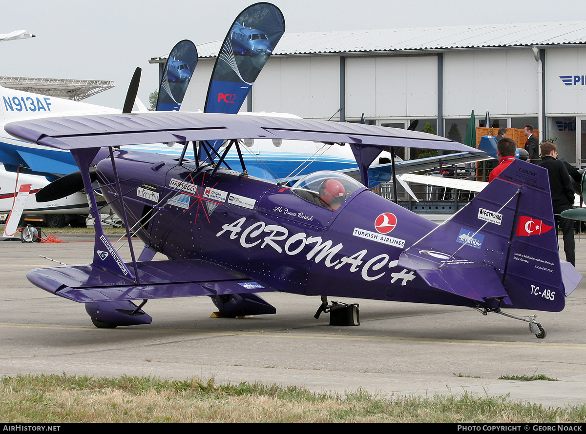 Aircraft Photo of TC-ABS | Pitts S-2S Special | Acromach | AirHistory.net