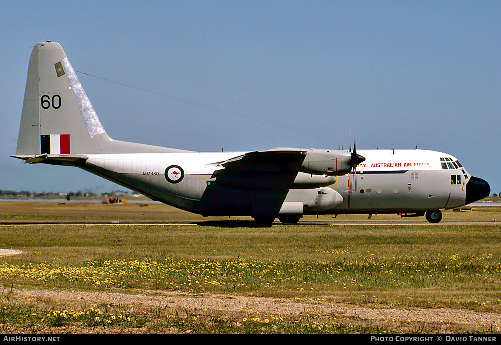 Aircraft Photo of A97-160 | Lockheed C-130E Hercules (L-382) | Australia - Air Force | AirHistory.net #40422