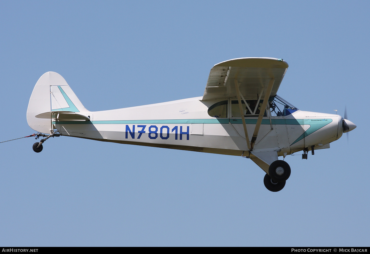Aircraft Photo of N7801H | Piper PA-12 Super Cruiser | AirHistory.net