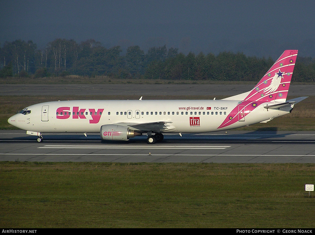 Aircraft Photo of TC-SKF | Boeing 737-4Q8 | Sky Airlines | AirHistory.net