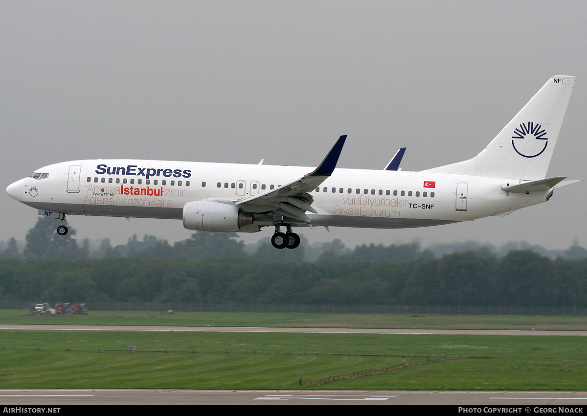 Aircraft Photo of TC-SNF | Boeing 737-8HC | SunExpress | AirHistory.net
