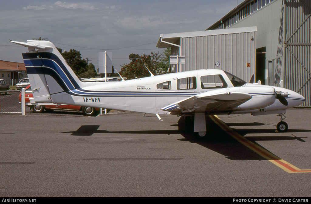 Aircraft Photo of VH-WHV | Piper PA-44-180 Seminole | AirHistory.net