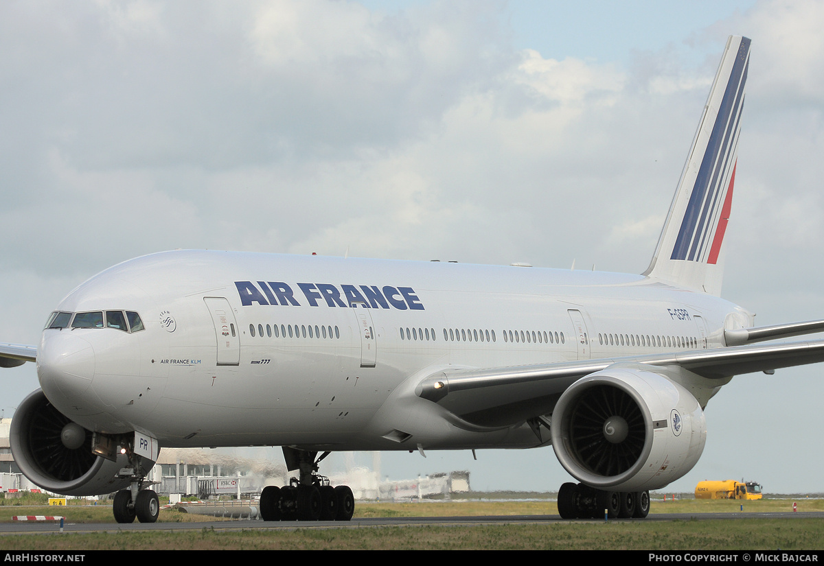 Aircraft Photo of F-GSPR | Boeing 777-228/ER | Air France | AirHistory.net