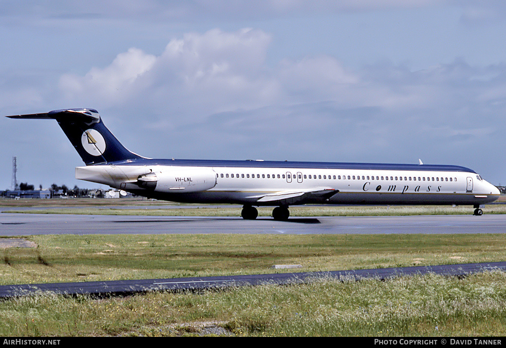 Aircraft Photo of VH-LNL | McDonnell Douglas MD-82 (DC-9-82) | Compass Airlines | AirHistory.net