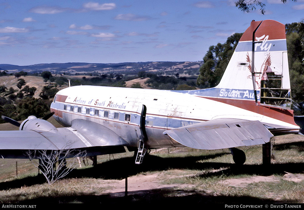 Aircraft Photo of VH-ANW | Douglas DC-3-G202A | Airlines of South Australia - ASA | AirHistory.net