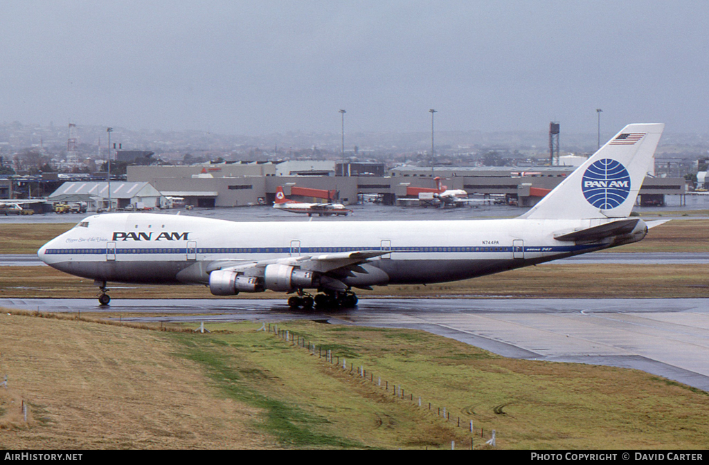 Aircraft Photo of N744PA | Boeing 747-121 | Pan American World Airways - Pan Am | AirHistory.net