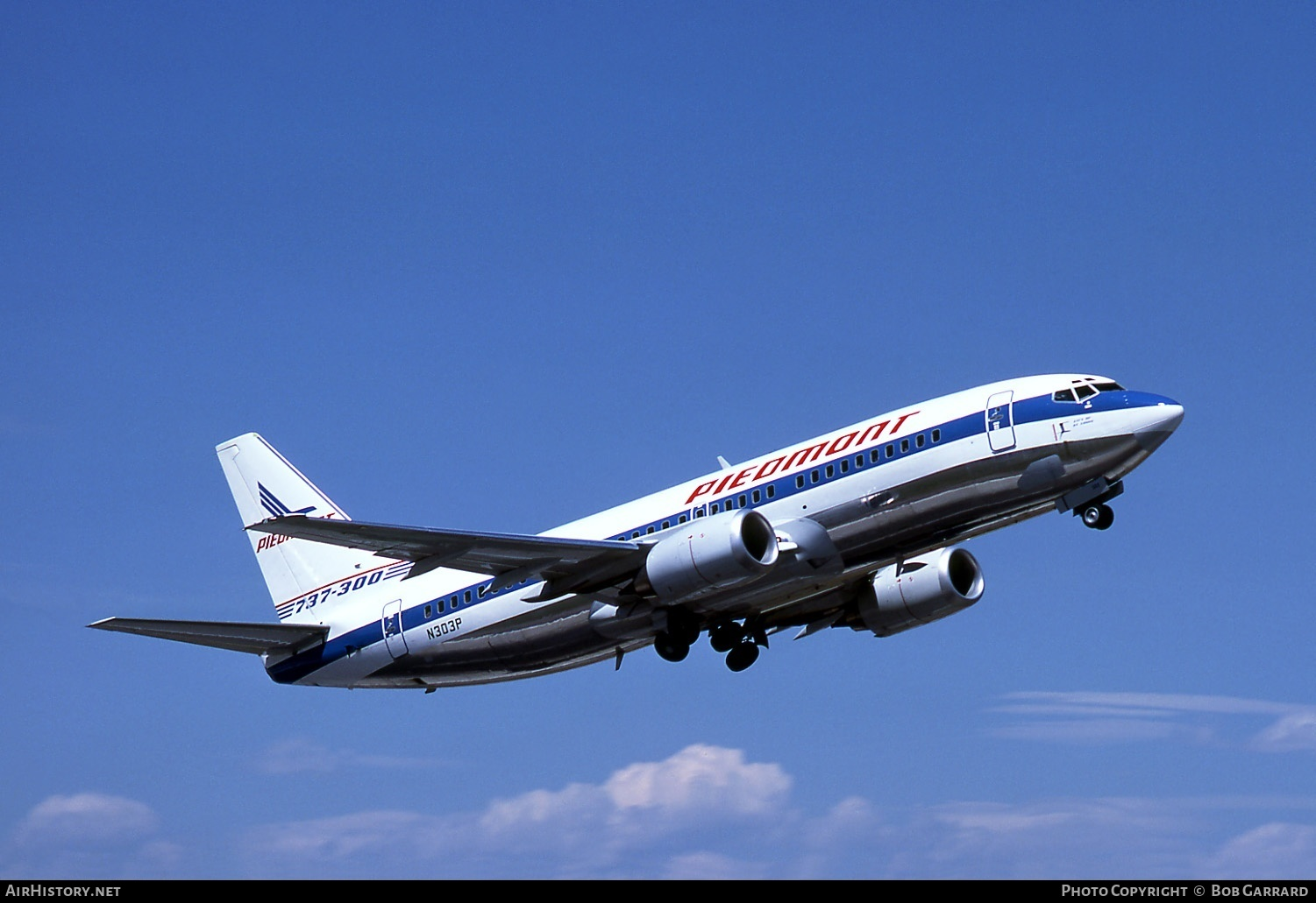Aircraft Photo of N303P | Boeing 737-301 | Piedmont Airlines | AirHistory.net