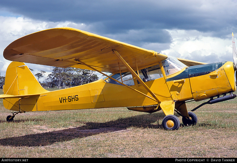 Aircraft Photo of VH-SHS | Auster J-1B Aiglet | AirHistory.net #40800