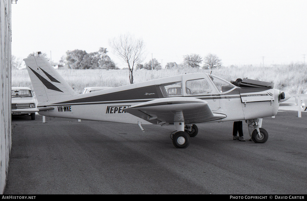Aircraft Photo of VH-WKE | Piper PA-28-140 Cherokee | Nepean Flying School | AirHistory.net