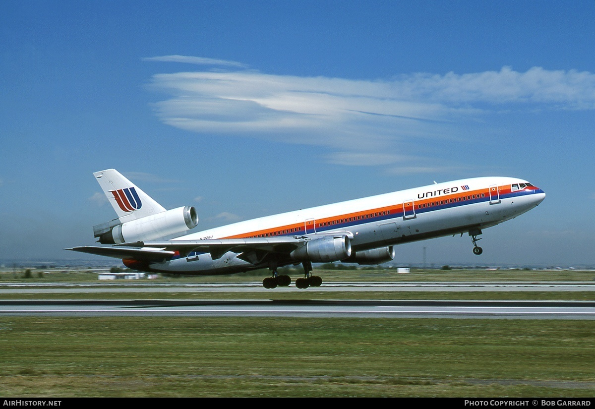 Aircraft Photo of N1828U | McDonnell Douglas DC-10-10 | United Airlines | AirHistory.net #40917