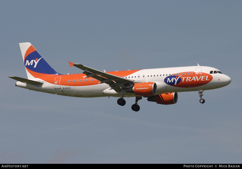 Aircraft Photo of G-KKAZ | Airbus A320-214 | MyTravel Airways | AirHistory.net #40965