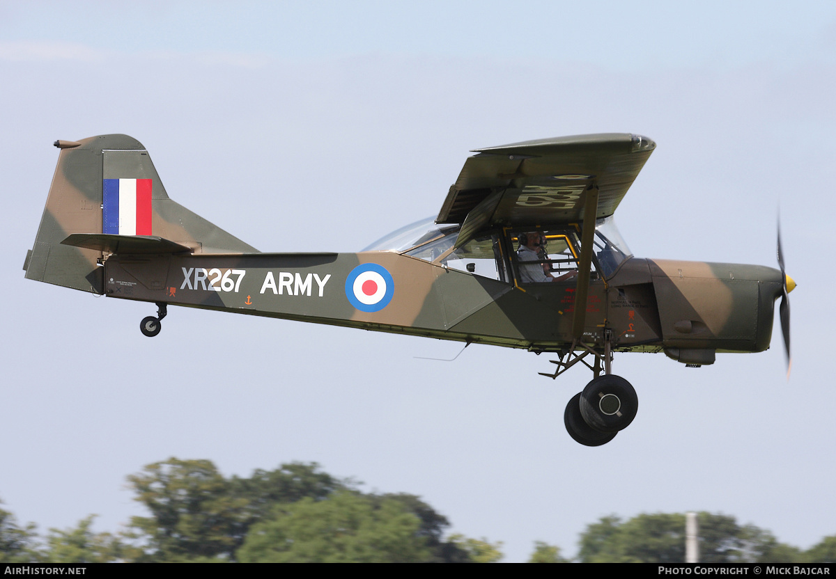Aircraft Photo of G-BJXR / XR267 | Auster AOP 9 | UK - Army | AirHistory.net