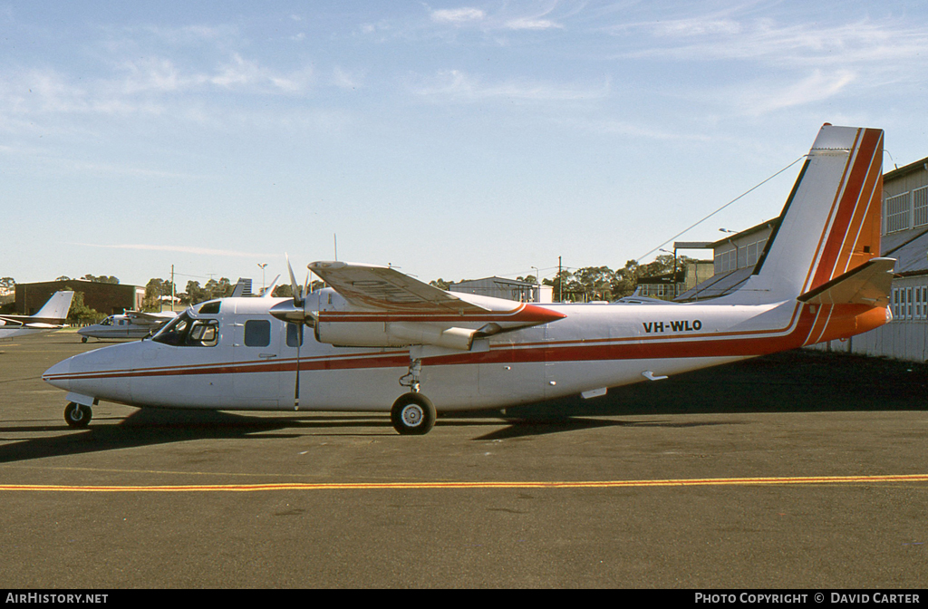 Aircraft Photo of VH-WLO | Rockwell 690 Turbo Commander | AirHistory.net
