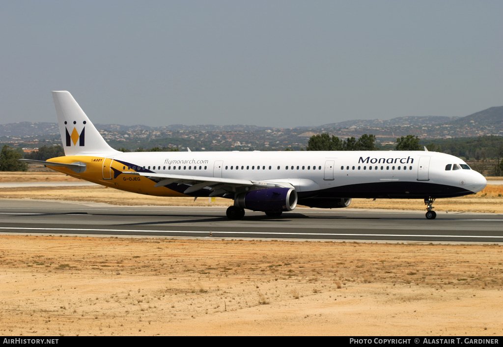 Aircraft Photo of G-OJEG | Airbus A321-231 | Monarch Airlines | AirHistory.net