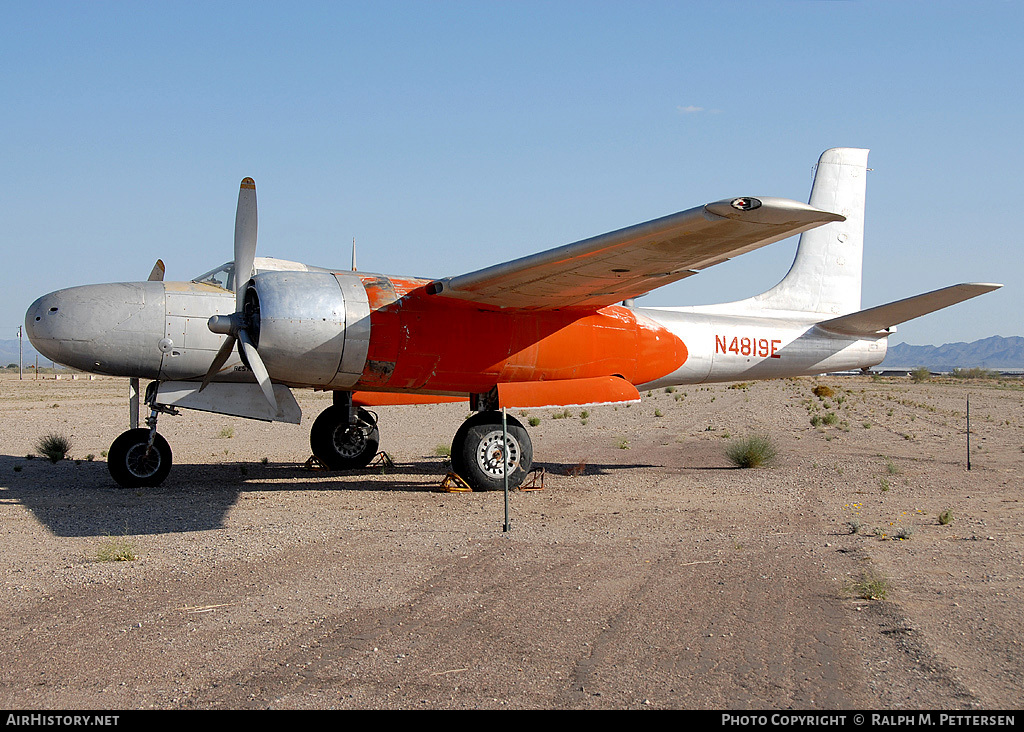 Aircraft Photo of N4819E | Douglas A-26B Invader | AirHistory.net #41520