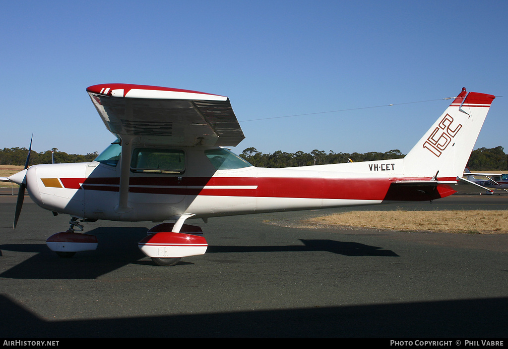Aircraft Photo of VH-CET | Cessna 152 | AirHistory.net