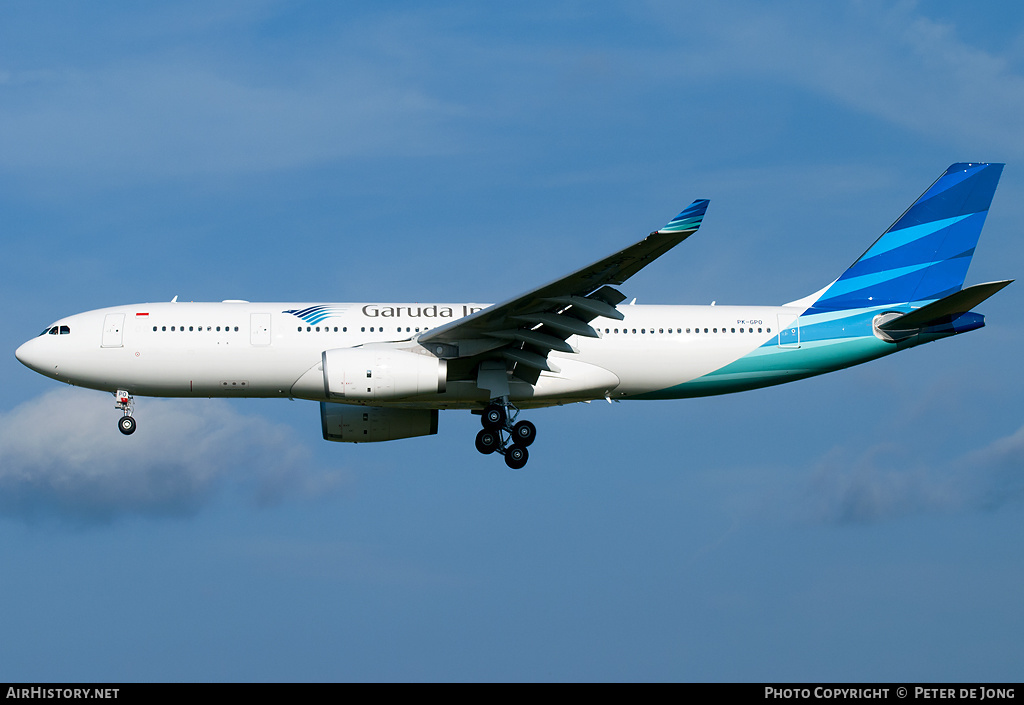 Aircraft Photo of PK-GPO | Airbus A330-243 | Garuda Indonesia | AirHistory.net