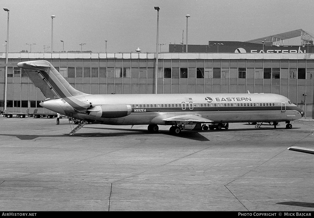 Aircraft Photo of N992EA | McDonnell Douglas DC-9-51 | Eastern Air Lines | AirHistory.net
